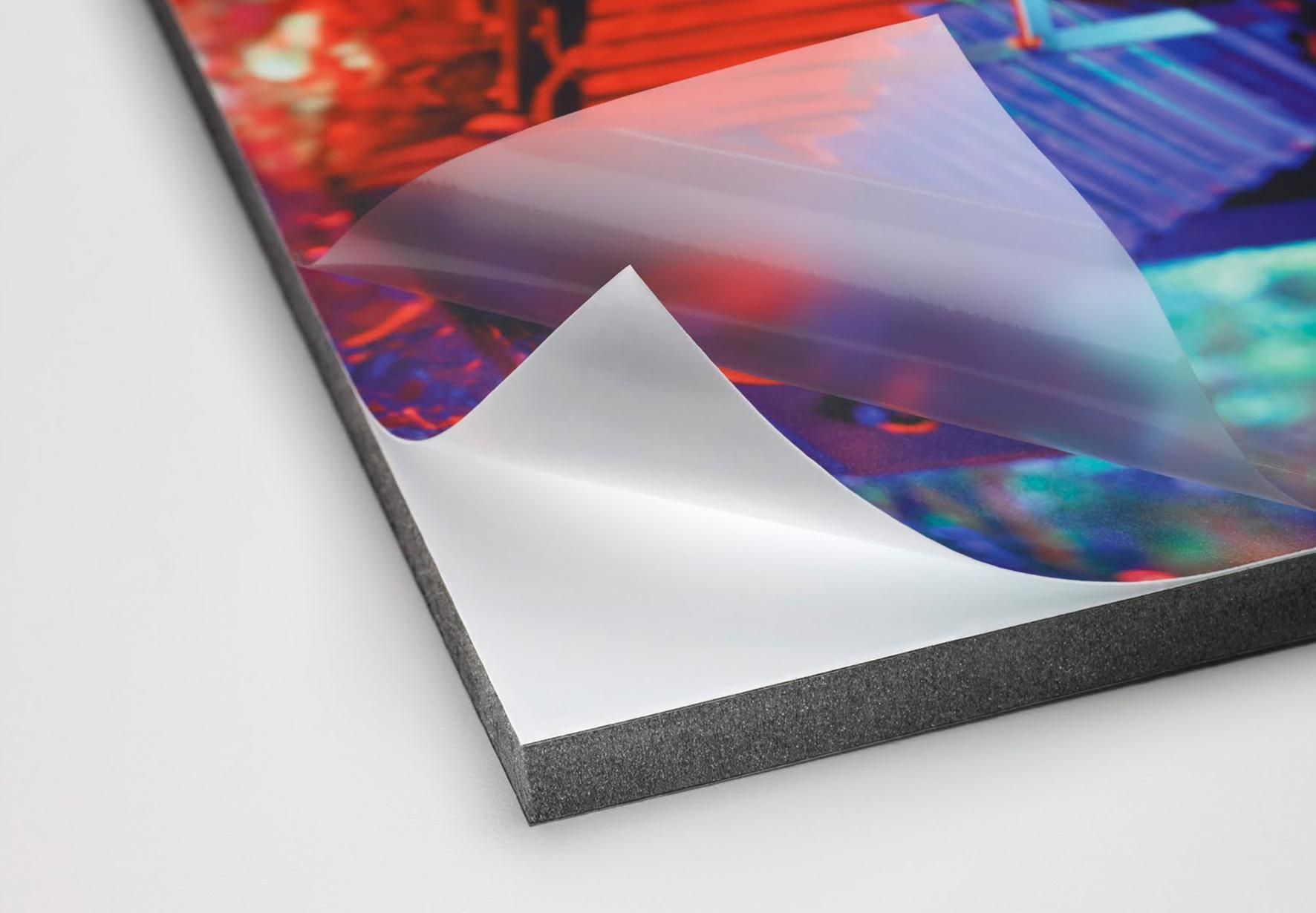 Ламинация фото на магнитном виниле